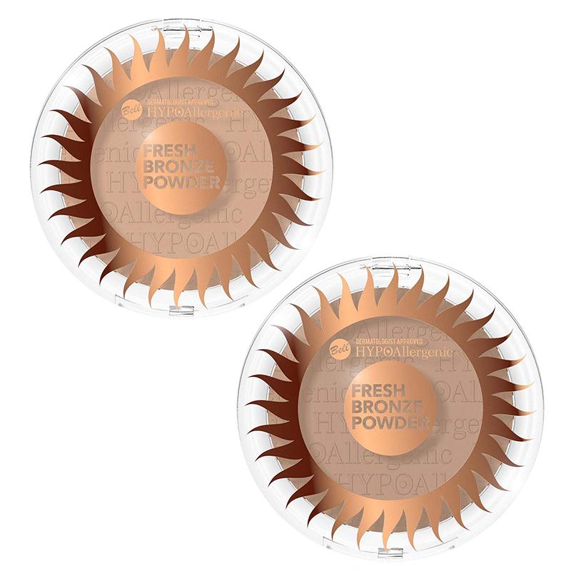 SET Bell HYPOAllergenic Fresh Bronze Powder