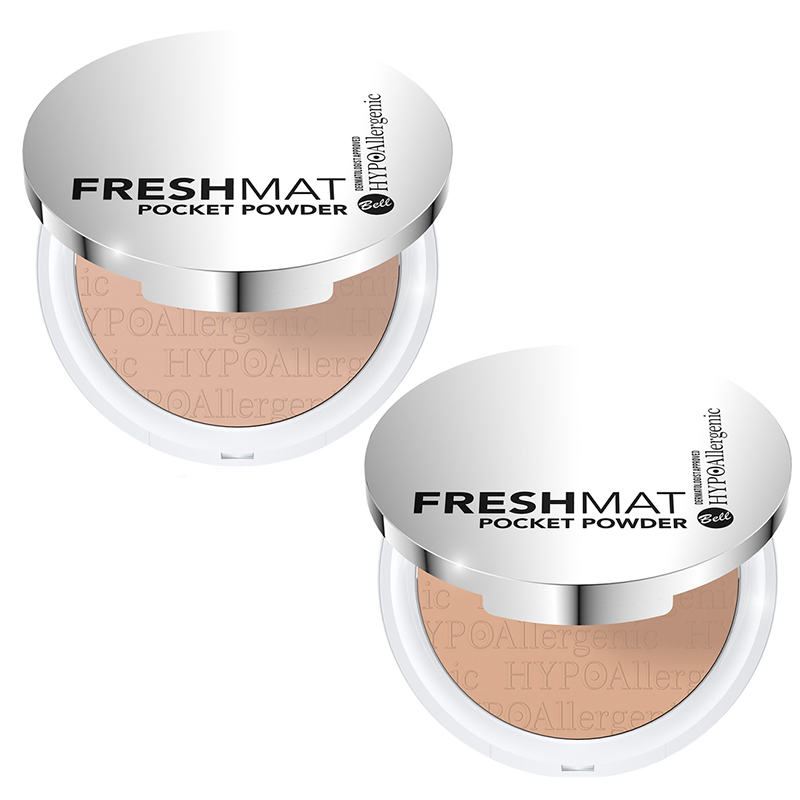 SET Bell HYPOAllergenic Fresh Mat Pocket Powder nr 2