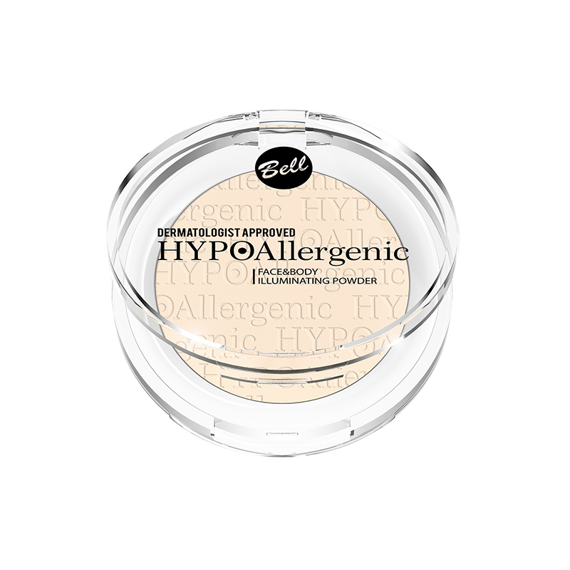 Pudra iluminatoare - Bell HYPOAllergenic Face and Body Illuminating Powder