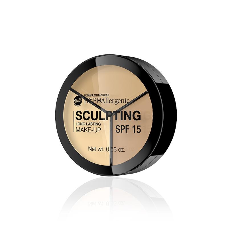 Paleta corectoare - Bell HYPOAllergenic Long Lasting Sculpting Make-Up